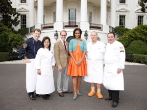 White House/Orange Crocs