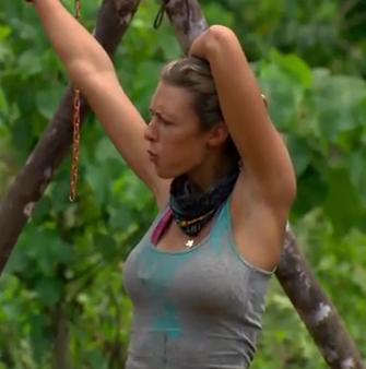 Survivor boob slips