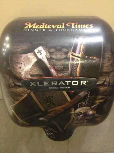 Medieval Times Hand Dryer